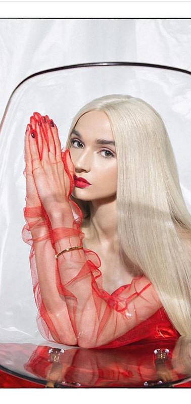 Poppy x Cosmopolitan tulle gloves