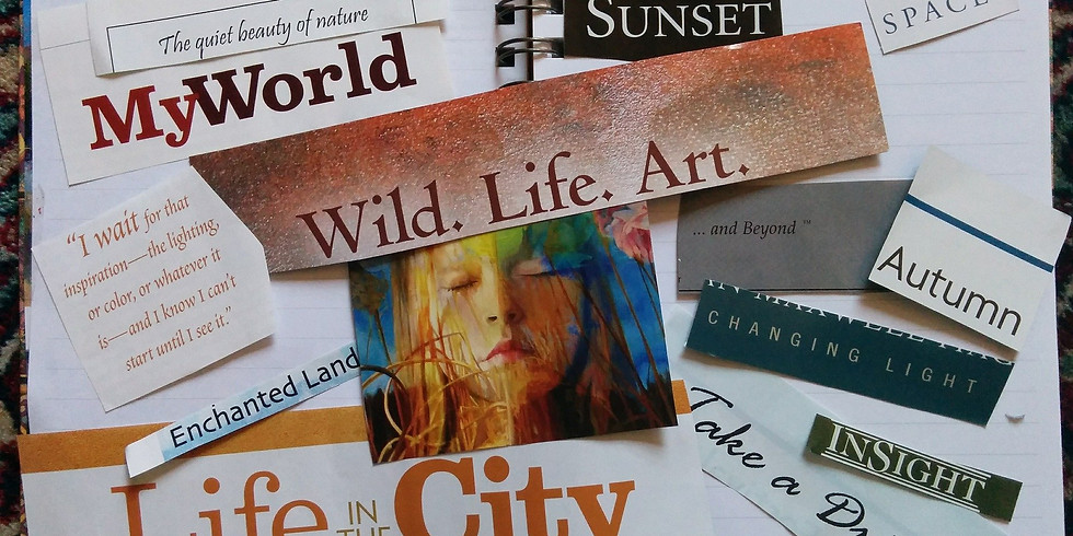 Energetically Empowered Vision Board and Manifesting with Taruna Barber, PhD
