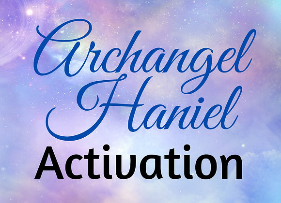 Archangel Haniel Activation