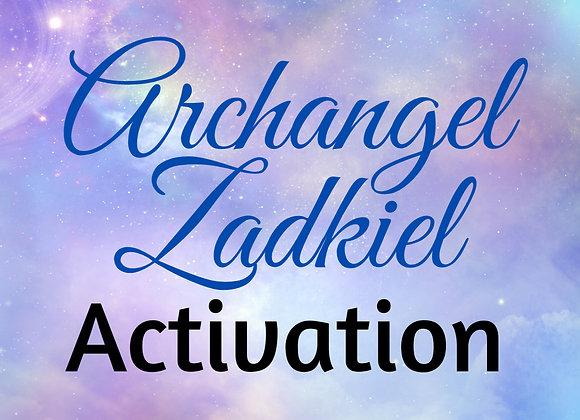 Archangel Zadkiel Activation