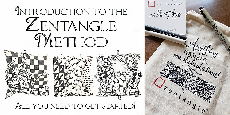 Introduction to the Zentangle Method ® at Nourishing Journey