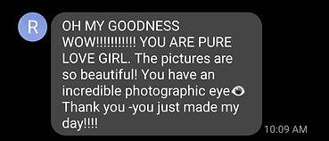 Positive client review of Daniela Blagoeva portrait photographer from Las Vegas, NV