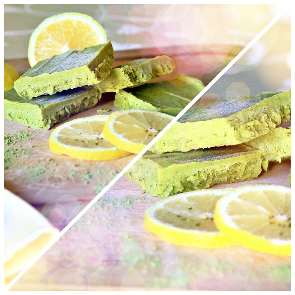 Creamy avocado delight with a subtle hint of green tea and zestful trace of fresh mint