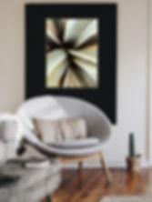 Living Room, Wall Art, Agave Plant Art, Modern Interior Decor, Design, Desert wall art, digital prints, digital art