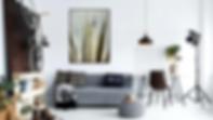 Interior Decor, Digital prints, Wall art, Modern Interior Design, Living Room, Agave Plant art