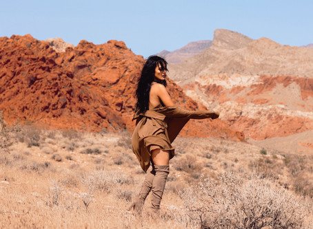 Red Rock Canyon Photoshoot with JanJanGrams