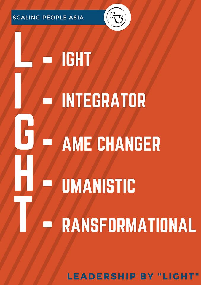 Orange Big Type Leadership Seminar Confe