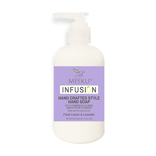 Hand Crafted Style Hand Soaps   Lemon Infusion   Moisturizing   Repairing