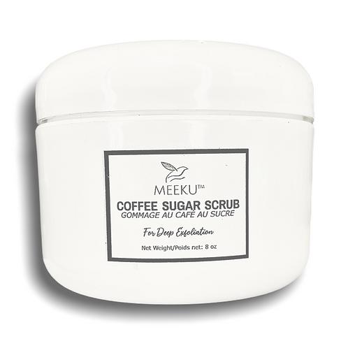 Coffee Sugar Scrub | Foaming