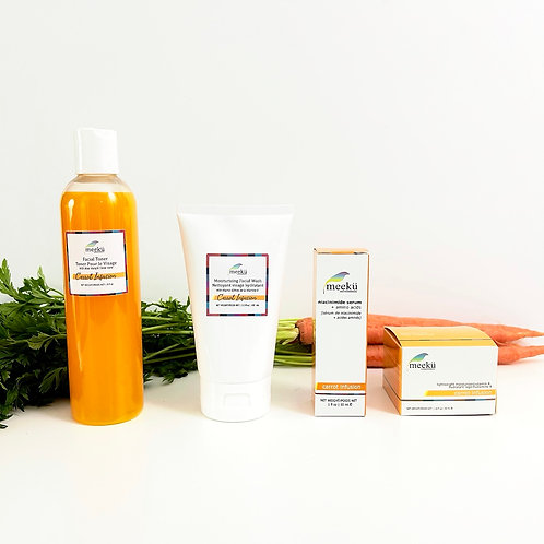 Carrot Infusion Facial Line Subscription Pack