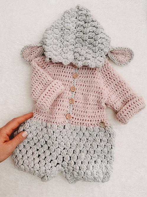 Baby Overall LÄMMCHEN