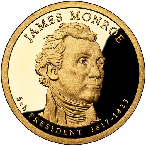 2008-S James Monroe Presidential Dollar Proof