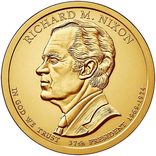 2016-P Richard Nixon Presidential Dollar in BU