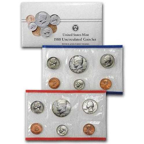 1988 U.S. Mint Set