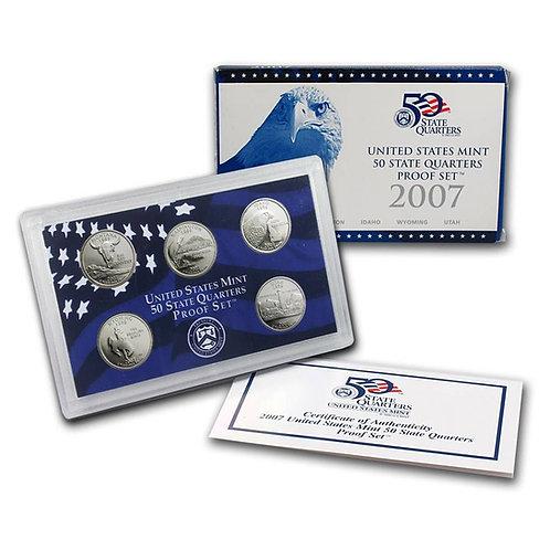 2007 Statehood Quarter Proof Set