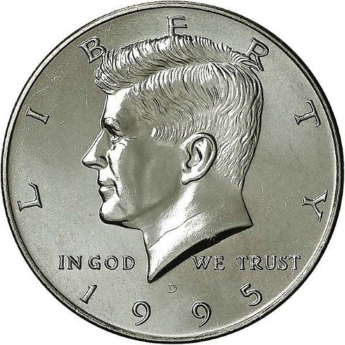 1995-D Kennedy Half Dollar in BU