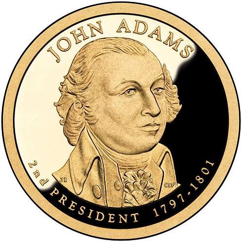 2007-S John Adams Presidential Dollar Proof