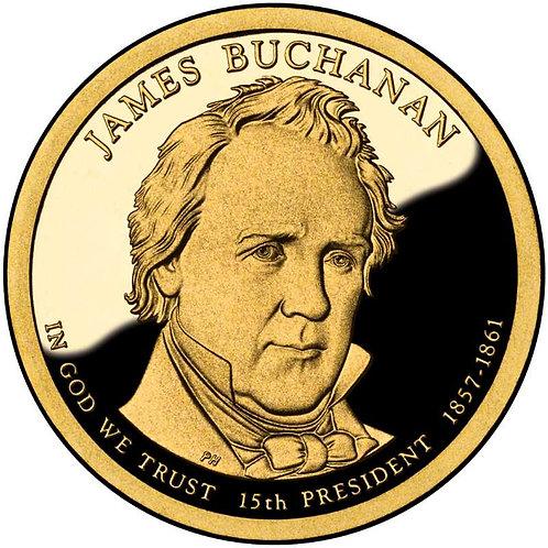 2010-S James Buchanan Presidential Dollar Proof