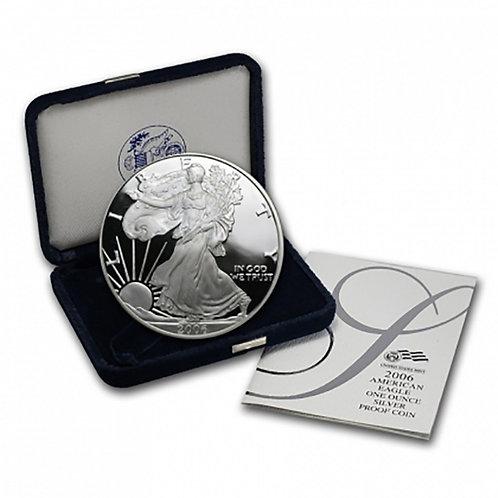 2006-W Proof American Silver Eagle