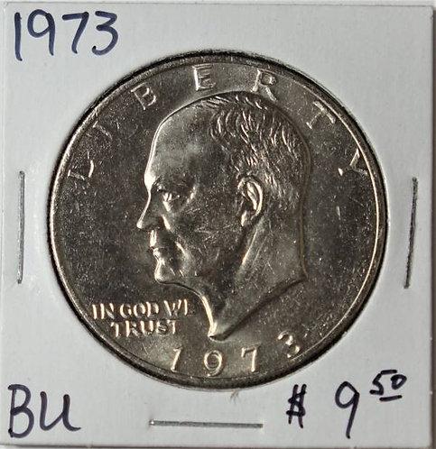 1973 Eisenhower Dollar in BU