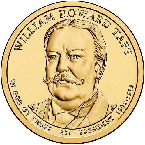 2013-P William Taft Presidential Dollar in BU