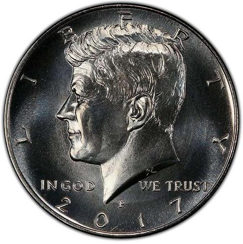 2017-P Kennedy Half Dollar in BU