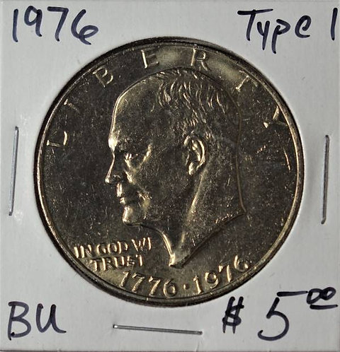 1976 (Type 1) Eisenhower Dollar in BU