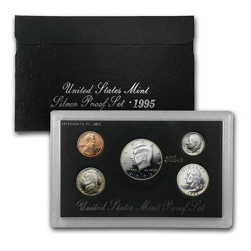1995 U.S. Silver Proof Set