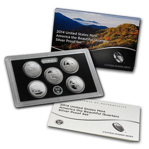 2014 ATB Silver Proof Set