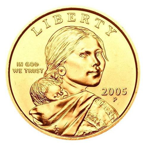 2005-P Sacagawea Dollar in BU