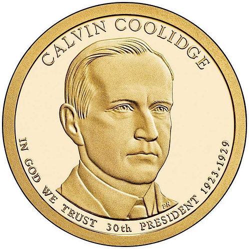 2014-S Calvin Coolidge Presidential Dollar Proof