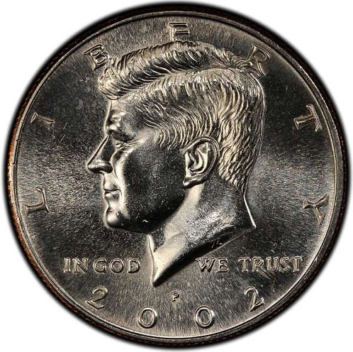 2002-P Kennedy Half Dollar in BU
