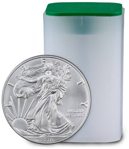 2016 1-oz American Silver Eagle in BU