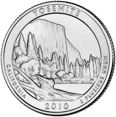 2010-D Yosemite National Park Quarter in BU