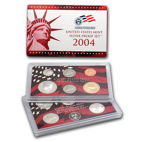 2004 U.S. Silver Proof Set