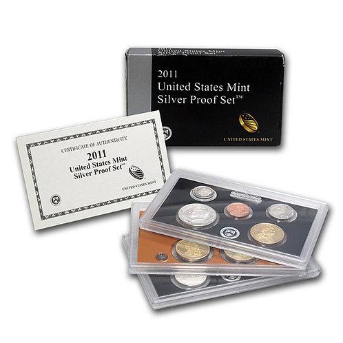 2011 U.S. Silver Proof Set