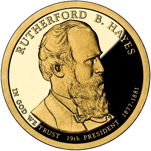 2011-S Rutherford Hayes Presidential Dollar Proof