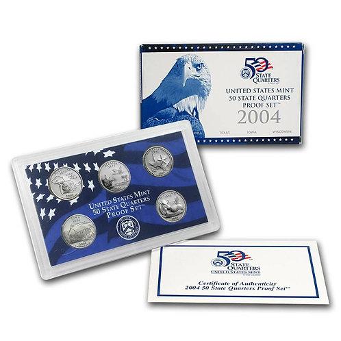2004 Statehood Quarter Proof Set