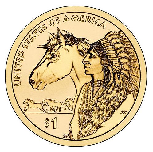 2012-D Native American Dollar in BU