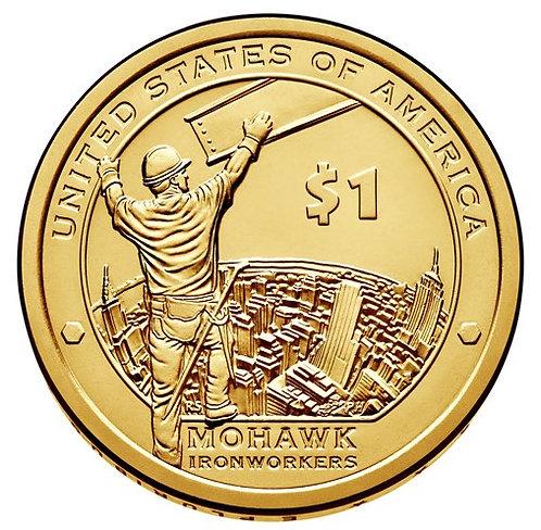 2015-D Native American Dollar in BU