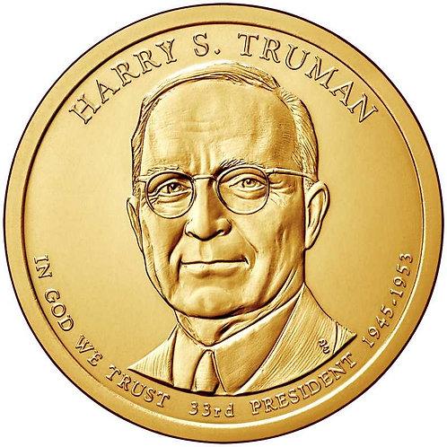 2015-P Harry Truman Presidential Dollar in BU
