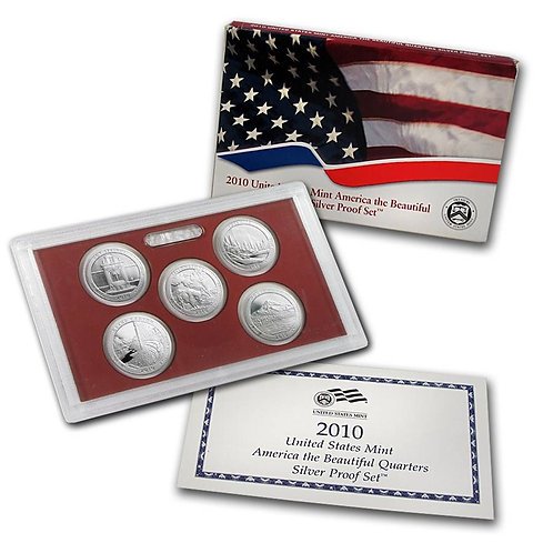 2010 ATB Silver Proof Set