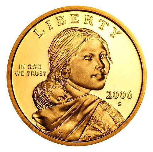 2006-S Sacagawea Dollar  Proof