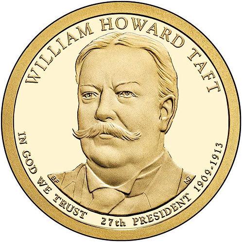 2013-S William Taft Presidential Dollar Proof