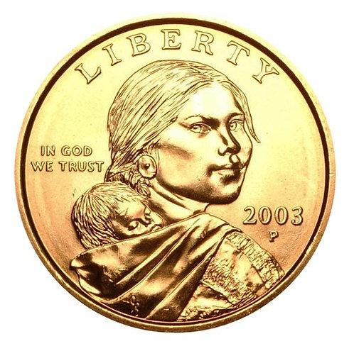 2003-P Sacagawea Dollar in BU
