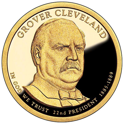 2012-S Grover Cleveland (1st term) Presidential Dollar Proof
