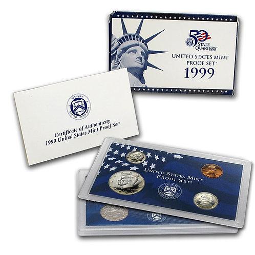 1999 U.S. Proof Set