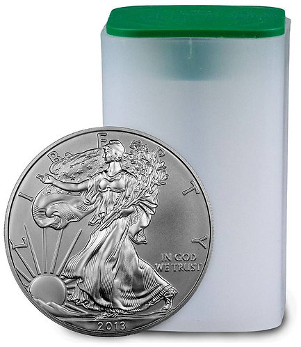 2013 1-oz American Silver Eagle in BU