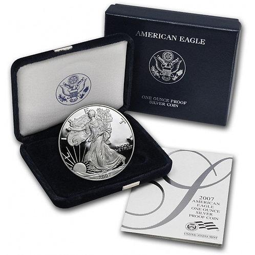 2007-W Proof American Silver Eagle