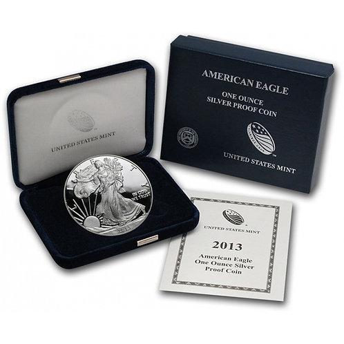 2013-W Proof American Silver Eagle